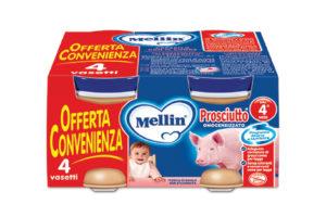 Biberon Sanitaria | Omogeneizzati di prosciutto Mellin